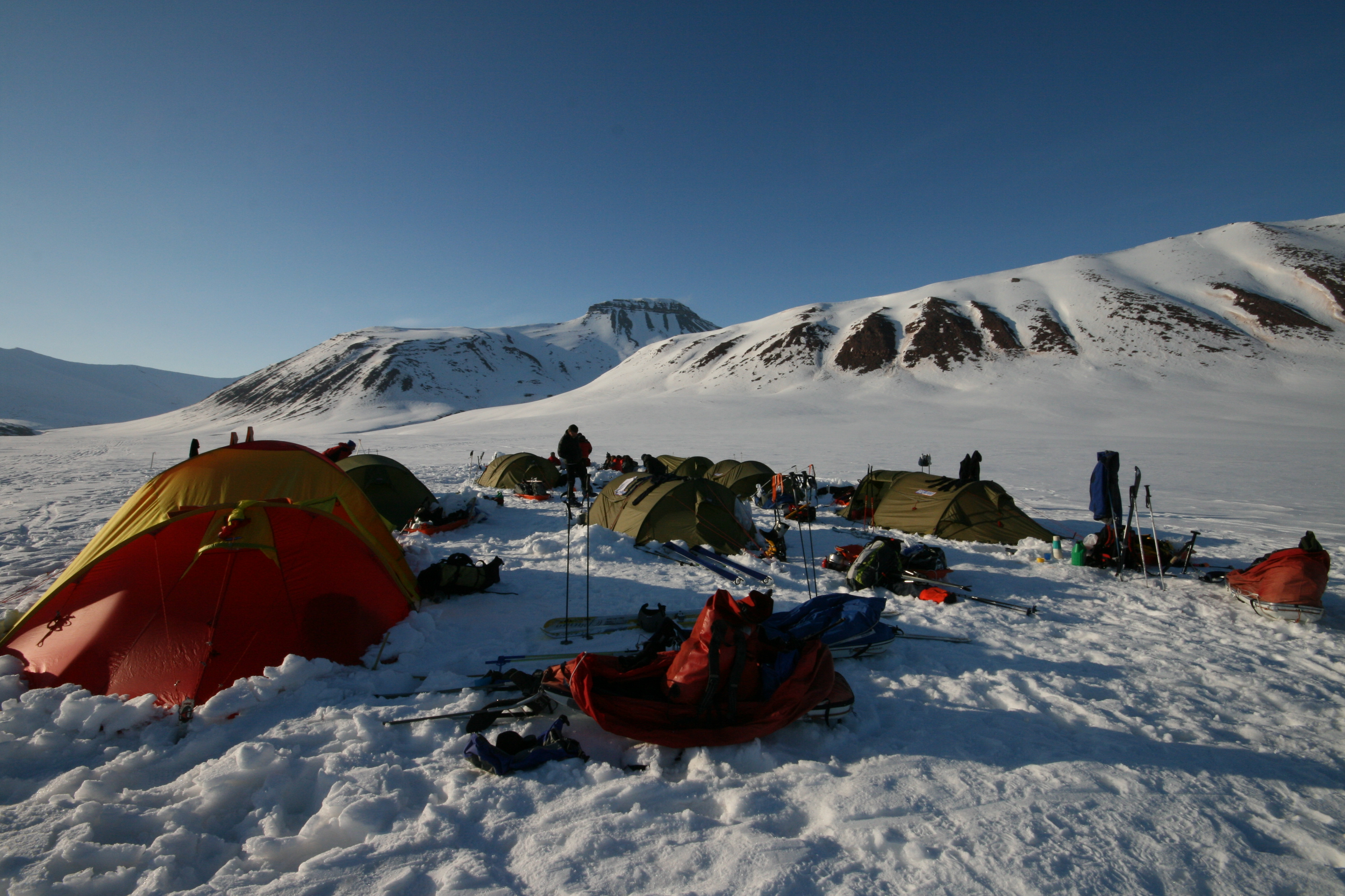 Summer ski expedition: Experience Svalbard with skis and