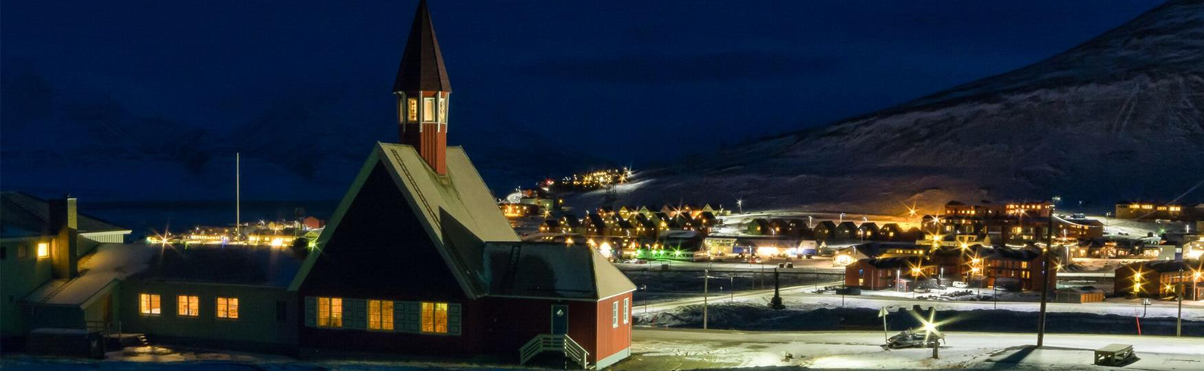 Welcome to Christmas in Longyearbyen