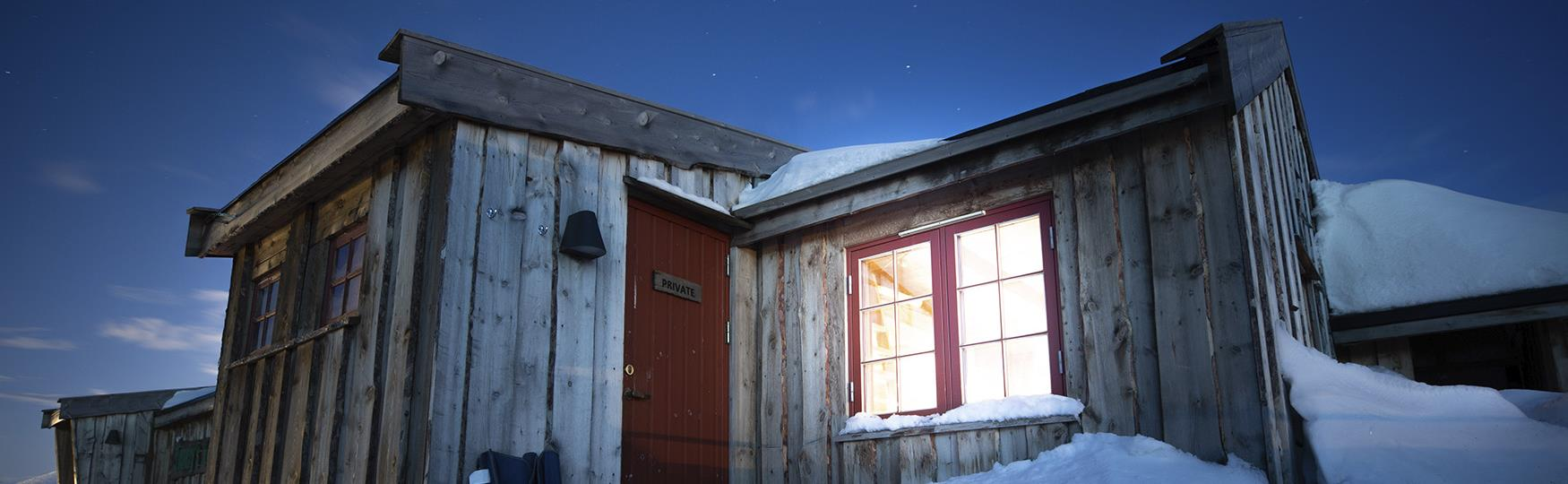 The Wilderness-cabins of Svalbard