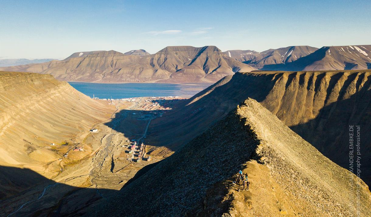 View of Longyearbyen