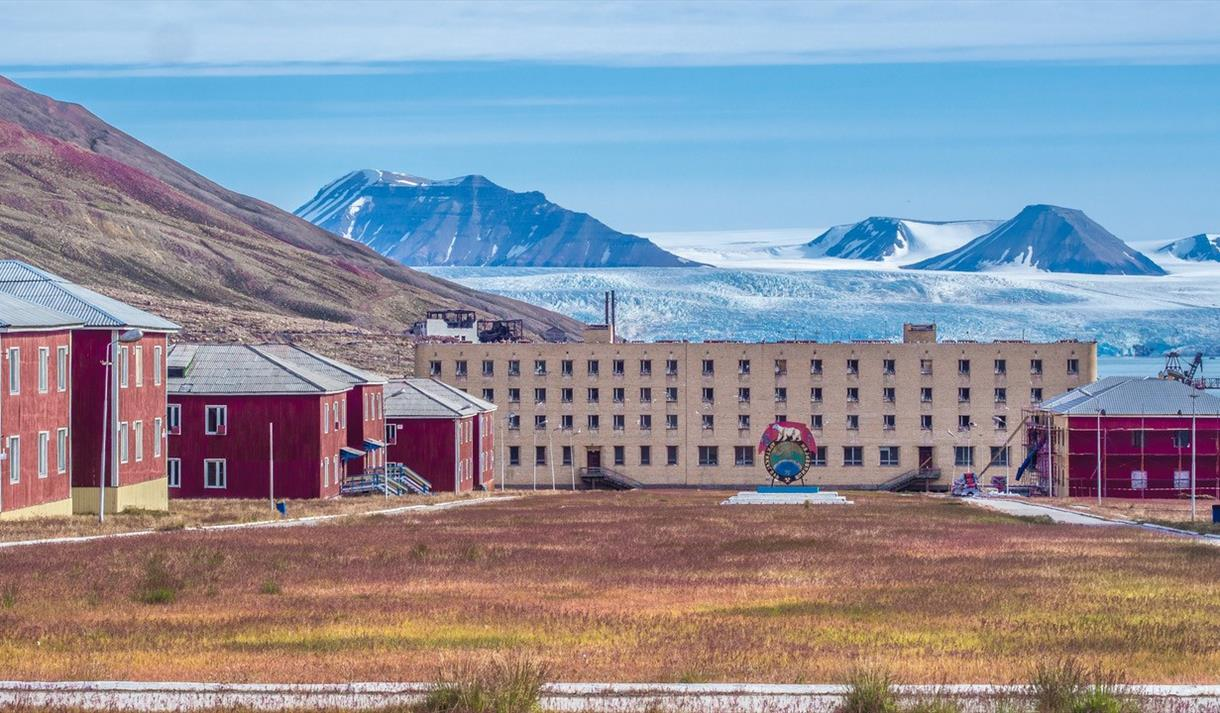 Buildings in Pyramiden