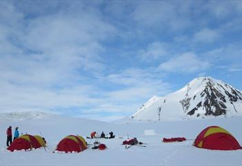 A Night Outdoors - Arctic camp - Svalbard Wildlife Expeditions