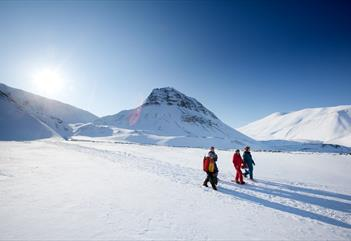 3 days snowshoe and winter camp - Svalbard Wildlife Expeditions