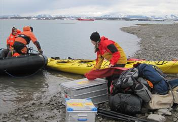 Kayak overnight adventure -  Svalbard Wildlife Expeditions