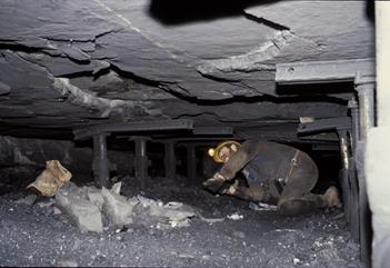 Visit to coal mine nr 3 - Gruve 3 AS