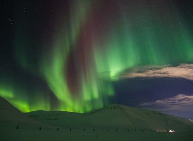 Northern lights Svalbard
