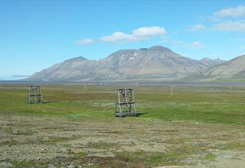 Panorama tour around Isdammen in Advent valley (summer) - Poli Arctici