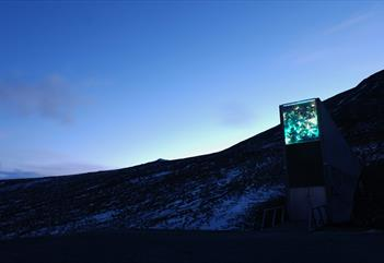 Seed to summit: Hike to Blomsterdalen and the Seed Vault - Svalbard Wildlife Expeditions