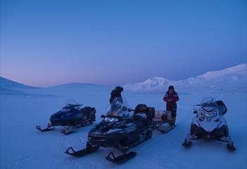 Excursion by snowmobile in Surrounding area of Longyearbyen (afternoon) - Poli Arctici
