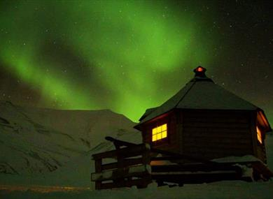 Gamme with Northern Lights