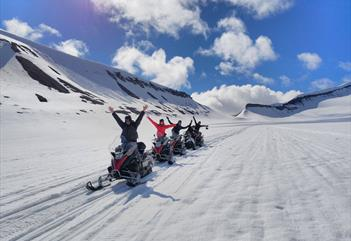 Summer adventure on a snowmobile - Better Moments
