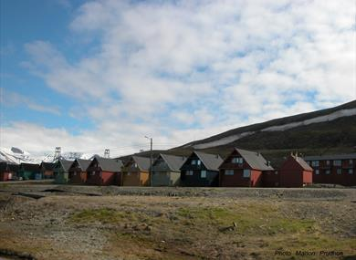 Picture of Longyearbyen City in the Summer